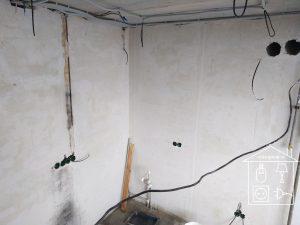 Разводка электрических линий по потолку, Устройство отверстий под выключатели