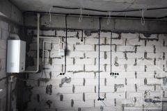Черновой электромонтаж кухни