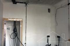 Протяжка кабеля по потолку