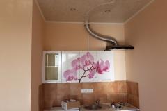 Электромонтаж в комнате-студии под сдачу