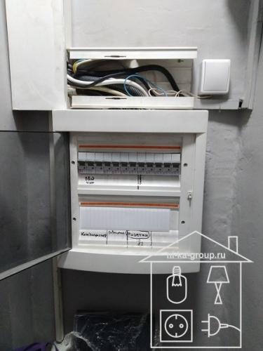 Замена содержимого электрического щита