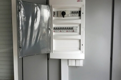 Накладной электромонтаж в кабель-канале