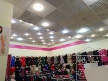 Верхнее освещение магазина