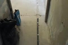 Штроба для протяжки кабеля по полу